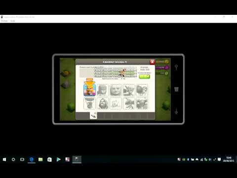 Clash of clans on Windows 10 Mobile - Lumia 930 (Android app)