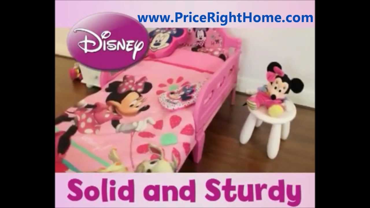 Minnie Mouse Toddler Bed Hd Youtube
