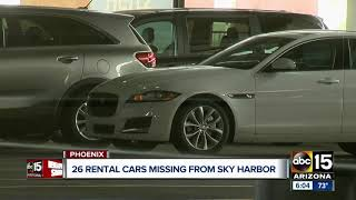 Three rental car employees arrested for stealing vehicles from Sky Harbor