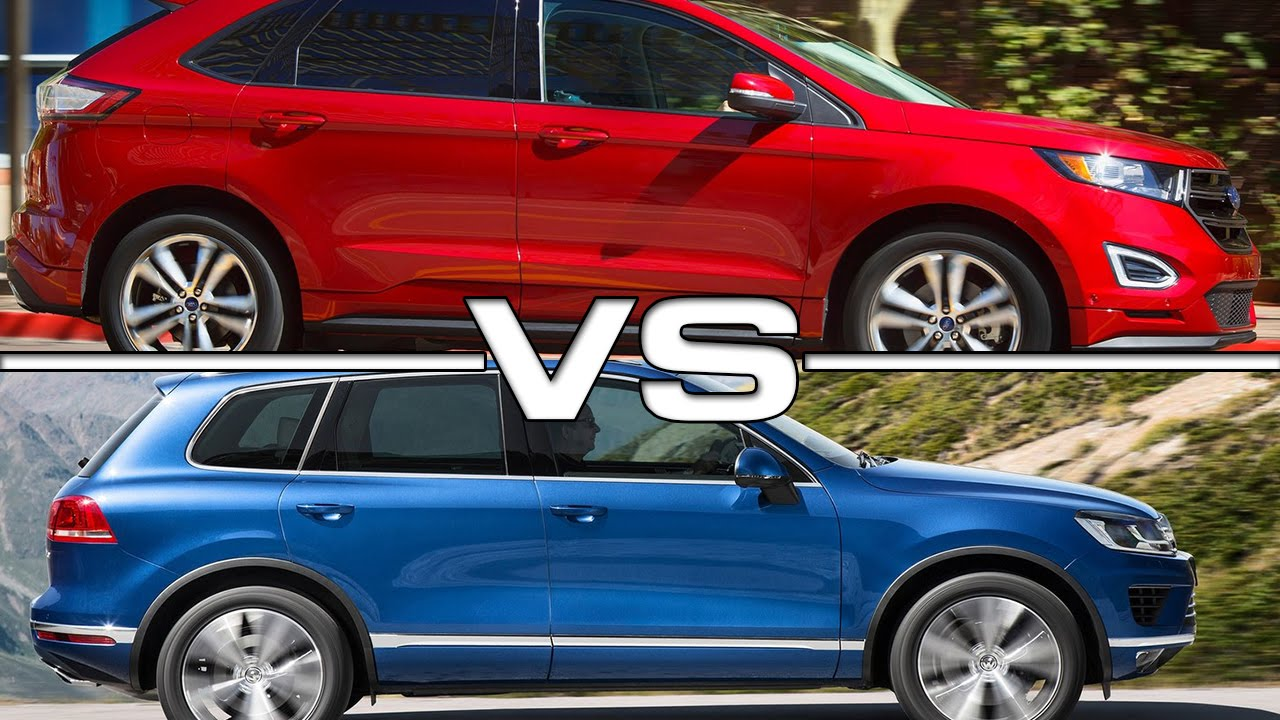 Ford Edge Vs  Vw Touareg Youtube