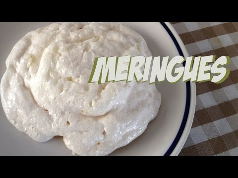 How to make easy meringues in 2 minutes #fastmicrowave