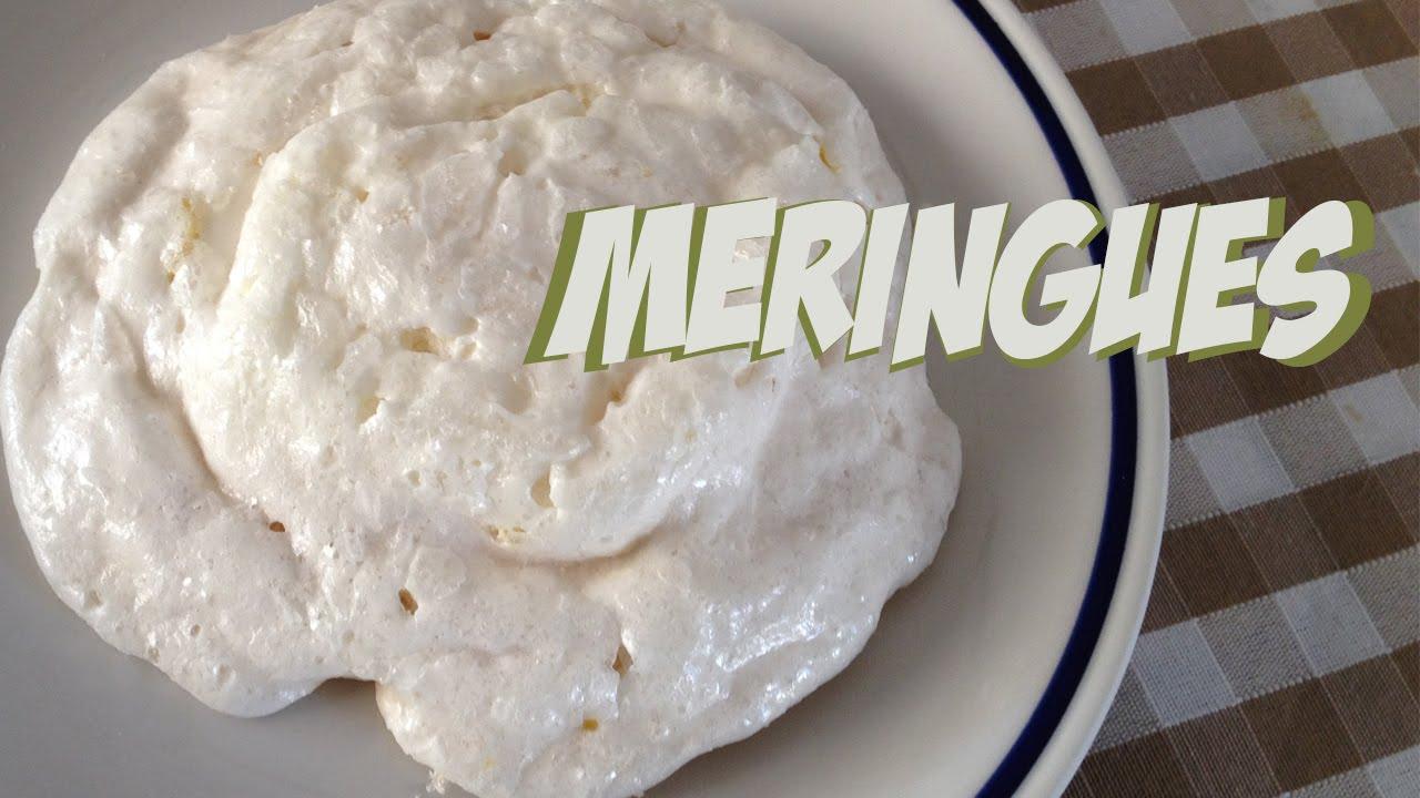 Easy way to make meringues cookies in the microwave