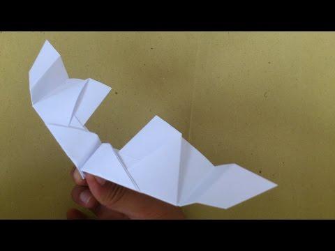 Cara Membuat Origami Pesawat Sapu Angin | Origami Pesawat