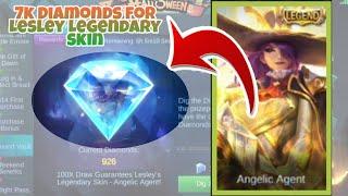 HOW TO GET LESLEY LEGENDARY SKIN! Mobile Legends Bang Bang