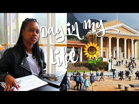 DAY IN MY LIFE AT UCT | SOUTH AFRICAN YOUTUBER