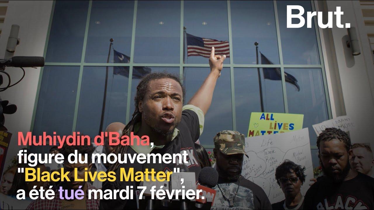 Décès de Muhiydin d'Baha, figure du mouvement Black Lives Matter