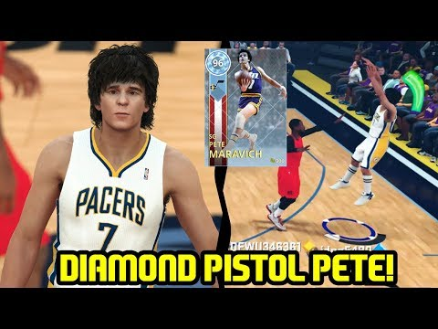 DIAMOND PETE MARAVICH! I BEAT MY PETE! NBA 2K18 MYTEAM GAMEPLAY