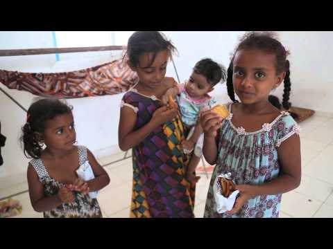 Yemeni Refugees Fleeing Violence Arrive in Djibouti