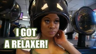 VLOG! COME WITH ME TO THE DOMINICAN SALON IN BROOKLYN (NYC) + SHOPPING