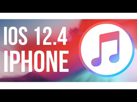How To Update To IOS 12.4 Using ITunes | IPhone XR, IPhone 8, IPhone 7, IPhone 6, IPhone 5S