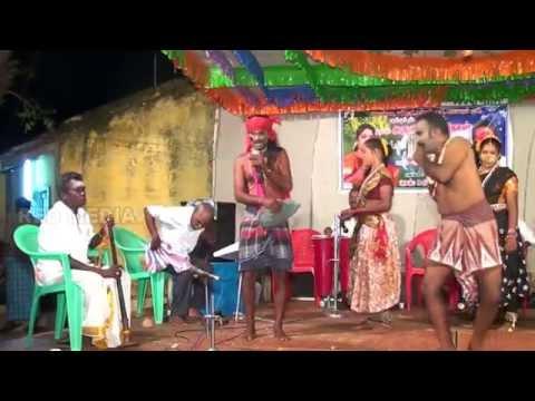 Mayakulam Madhavan's Surabiyin Themmangu palsuvai nigalchi in Periamayakulam 01 10 2014 Kuravan Kura
