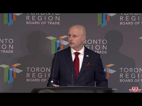 Address to Toronto Region Board of Trade