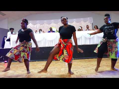 Best Congolese Wedding 2019 : A Must Watch Choreography Girls Killing It With African Moves