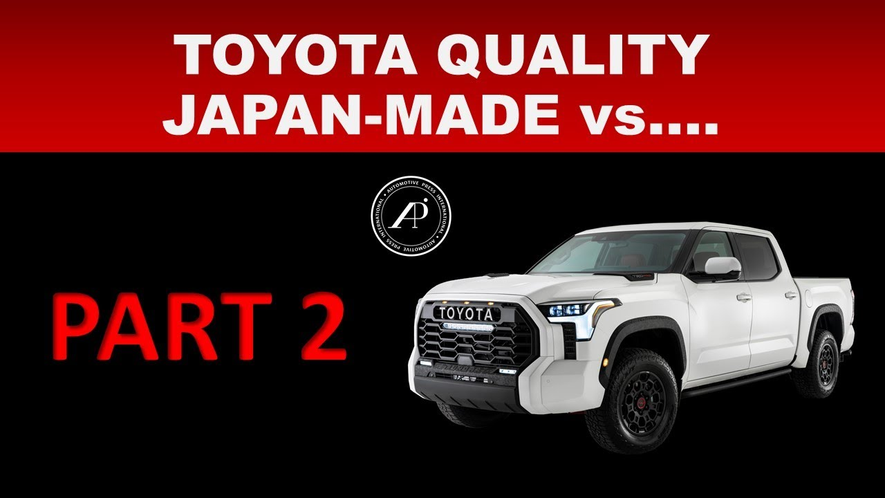 CAN ENGINEER TELL THE DIFFERENCE BETWEEN JAPAN-MADE CARS FROM THOSE MADE ELSWHERE? - PART 2 OF 2
