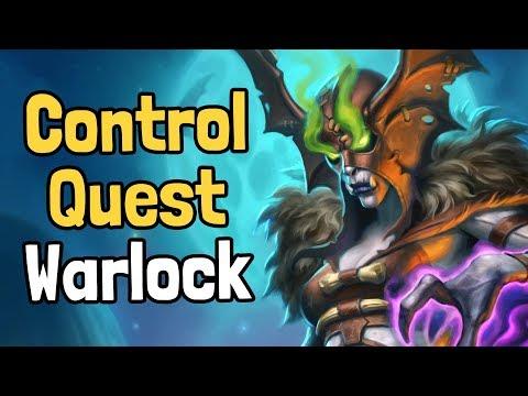 Discolock is Finally Good! - Control Quest Warlock Decksperiment - Hearthstone