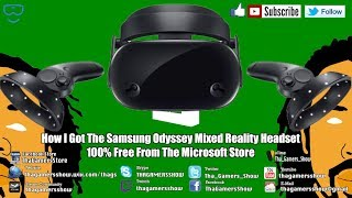 SE05EP75: How I Got The Samsung Odyssey Mixed Reality Headset 100% FREE Pt2