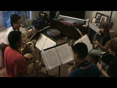 The Diamond State Rag by Bruce A. Evans Saxophone Quintet Arrangement