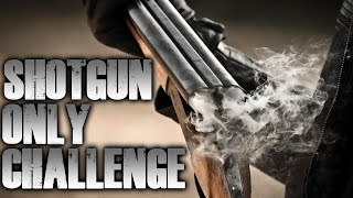 SHOTGUN ONLY ZOMBIE CHALLENGE (Call of Duty Zombies)