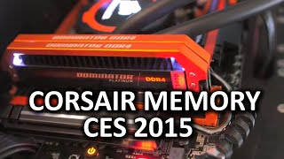 Corsair Neutron XT, Orange Dominator Platinums and New Thumb Drives - CES 2015