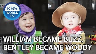 William became Buzz and Bentley became Woody [The Return of Superman/2019.07.28]