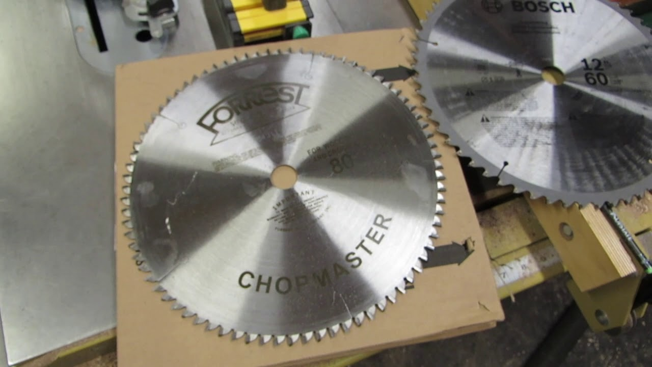 Replacing stock miter saw blade with forrest chopmaster youtube replacing stock miter saw blade with forrest chopmaster greentooth Gallery