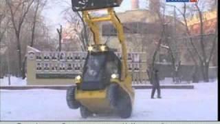 видео Многоцелевая коммунально-строительная машина МКСМ-800