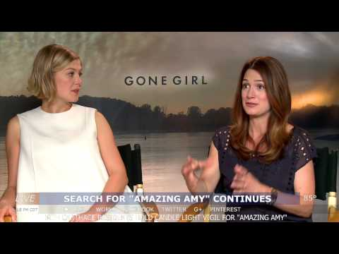Rosamund Pike & Gillian Flynn interview - GONE GIRL