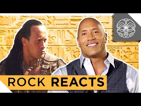 "The Rock Reacts To His First Leading Role In ""The Scorpion King"": 15 YEARS LATER"