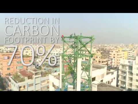 edotco's innovative Bamboo Tower in Bangladesh