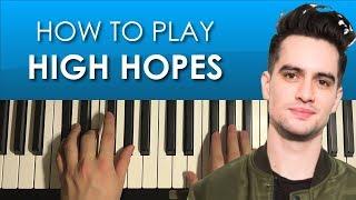 Baixar Panic! At The Disco - High Hopes (PIANO TUTORIAL LESSON)