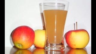 Как сделать домашний яблочный сок