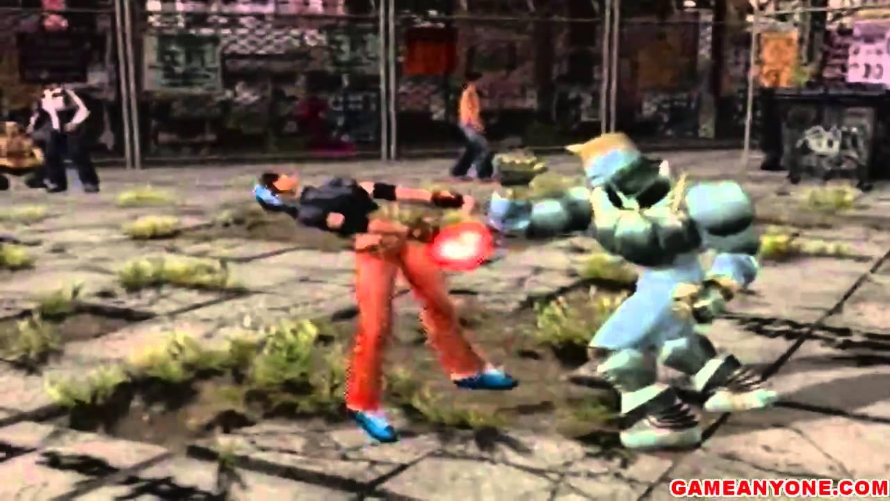 Tekken Tag Tournament Arcade Co Op Jack 2 Gun Jack Playthrough 1 2 Youtube