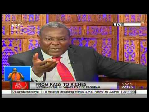 Jeff Koinange Live with Equity Bank CEO James Mwangi part 3