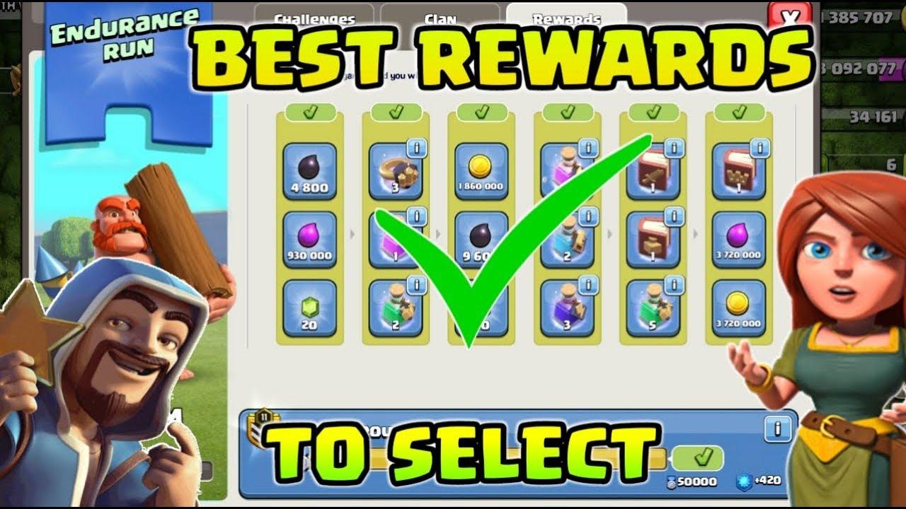 BEST REWARDS TO SELECT 22 JULY CLAN GAME ! Clash Of Clans