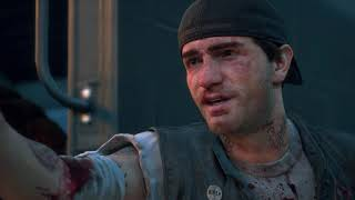 Days Gone Opening Cutscene Deacon Puts Sarah On Nero Chopper Ps4