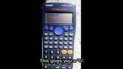 How to Type 'your mum gay' on a CALCULATOR!