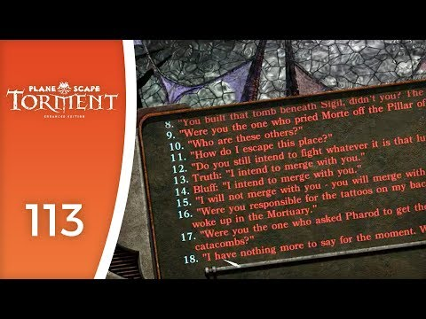 Do you even RPG, punk? Do you?! - Let's Play Planescape: Torment #113