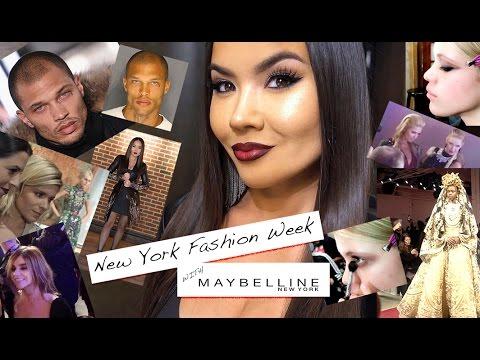 New York Fashion Week  W/ Maybelline - Vlog | Maryam Maquillage