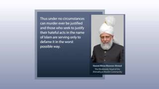 Official Press Release  Paris Attacks - Ahmadiyya Islam Mosque Croydon
