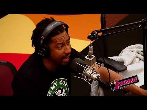 Brandon T Jackson talks with the Tom Joyner Morning