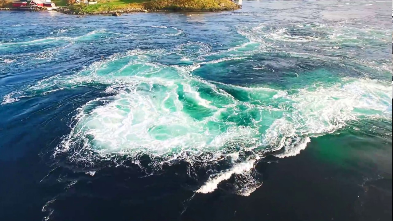Saltstraumen maelstrom in Norway