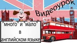 """Видеоурок: """"много"""" и """"мало"""" в английском языке"""