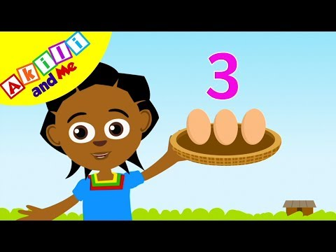 Count Things with Akili and Me | Cartoons for Preschoolers | Positive African Cartoons!