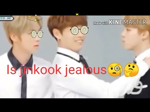 Jinkook jealousy ft.jimin 🥰😍😘