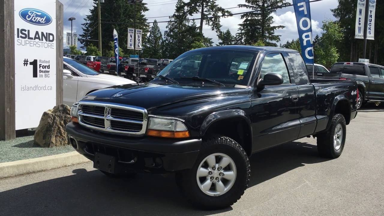 2004 dodge dakota 2dr club cab 131 wb 4wd sport review [ 1280 x 720 Pixel ]