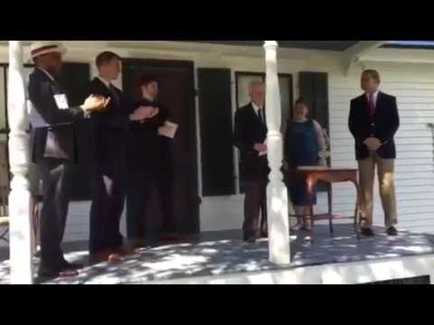 The 2016 Reenactment of the Homestead Inauguration of Calvin Coolidge