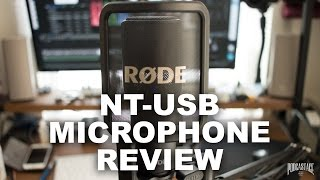 Rode NT-USB Condenser Mic Review / Test