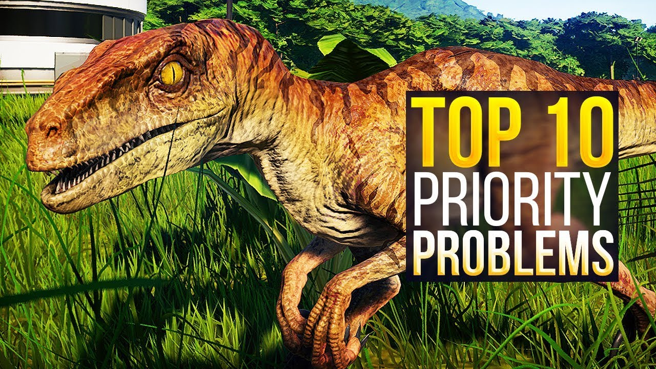 Top 10 PRIORITY Things To Improve In Jurassic World: Evolution