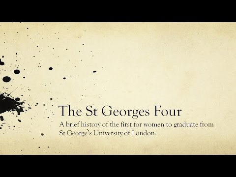 The St George's Four - Lecture by Jenny Day (09/05/2016)