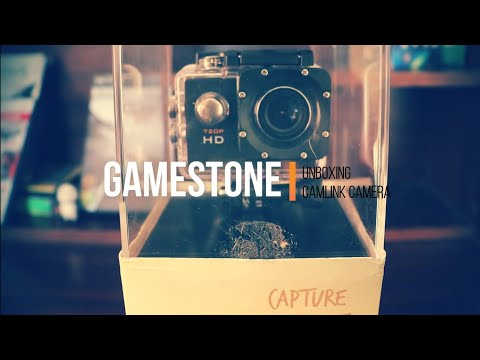    Unboxing Of Camlink Action Camera 720 HD   